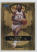2012-13 Fleer Retro 1998-99 Tradition Playmakers Theater #6PT Isiah Thomas Card
