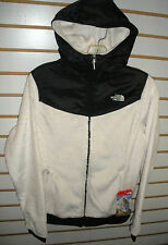THE NORTH FACE WOMENS OSO HOODIE FLEECE JACKET -#C660-GARDENIA WHITE- MEDIUM