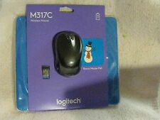 Logitech M317 Wireless Mouse with Bonus Mouse Pad bundle brand new and sealed