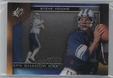 2013 SPx Shadow Box #SH-SY Steve Young Brigham (BYU) Cougars Football Card