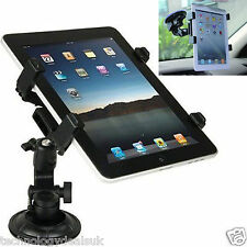 """Adjustable Universal In Car Suction Mount Holder For iPad Galaxy Tablet 7 To 11"""""""