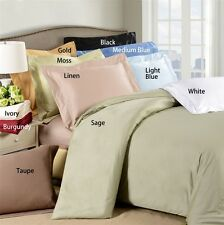 """Hotel Collection 800TC 100% Egyptian Cotton 4PC Sheet Set Solid 8""""Deep Pocket"""