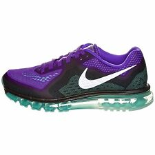 Nike Air Max 2014 Running Shoes Mens Size Hyper Grape Reflect Silver 621077 500