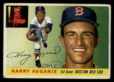 1955 Topps #152 Harry Agganis Boston Red Sox RC Rookie Baseball Card