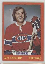 1973-74 Topps #72 Guy Lafleur Montreal Canadiens Hockey Card