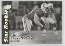 2013 Upper Deck Black & White Glossy #106 Chase Thomas Stanford Cardinal Card