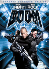 Doom DVD 2006 Widescreen Extended Edition The Rock & Karl Urban Good Movie