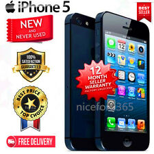 NEW AT&T Apple iPhone 5 -iPhone 4s Factory Unlocked 8-16-32-64GB Smartphone VV++