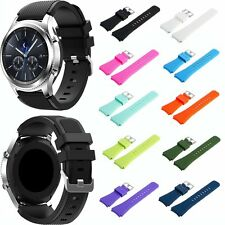 Silicone Watch Band Strap Bracelet for Samsung Galaxy Gear S3 Classic/Frontier