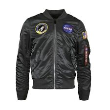 Alpha Industries L-2B NASA Flight Jacket Gun Metal