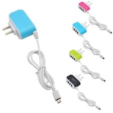 3Port USB Wall Home Travel AC LED Power Charger Adapter 3.1A For CellPhone EU/US