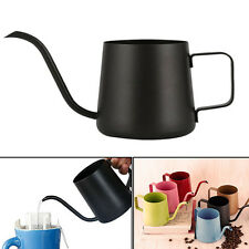 Stainless Steel Narrow Spout Coffee Maker Kettle Teapot Pour Over Drip Pot 250ml