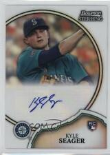 2011 Bowman Sterling Rookie Certified Autographs Refractor #9 Kyle Seager Auto