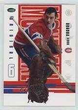 2003-04 Parkhurst Original Six Montreal Canadiens #50 Rogie Vachon Hockey Card