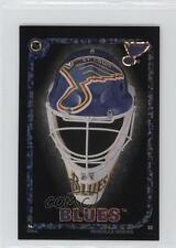 1996 Peninsula Vending NHL Goalie Mask Stickers #03 St Louis Blues Team St. Card