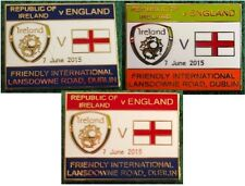 Republic of Ireland v England 2015 Friendly International, Dublin Pin Badge