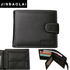 Brand New HASP Design  Genuine Leather Wallet with Coin Pocket & Card Holder