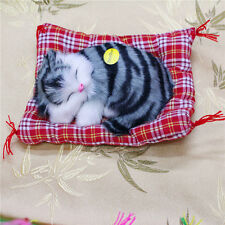 Lovely Simulation Doll Plush Sleeping with Sound Cats Kids Toys Gifts Doll toys