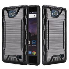 For ZTE Tempo N9131 Case,Armor Hybrid Cover[Stylus+Screen Protector+Car Charger]
