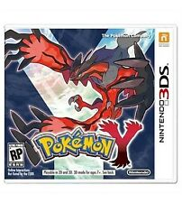 Pokemon Y Nintendo 3DS COMPLETE Game+Case+Manual