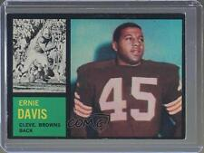 1962 Topps #36 Ernie Davis Cleveland Browns RC Rookie Football Card