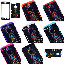 Peace Music KoolKase Shockproof Hybrid Case Cover For Apple iPhone 7 Plus (5.5)