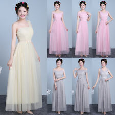 NEW Women Formal Wedding Bridesmaid Long Evening Party Prom Gowns Cocktail Dress