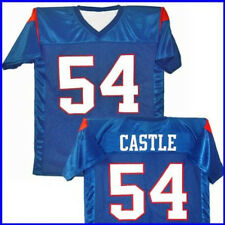 Thad Castle #54 Mountain Goats Blue Jersey T-Shirt State Football Costume