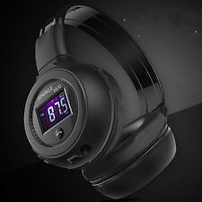 Foldable HiFi Stereo Wireless Bluetooth Headphone Gaming Headset Headphones
