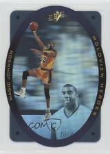 1996-97 SPx Holoview Heroes #H5 Magic Johnson Los Angeles Lakers Basketball Card