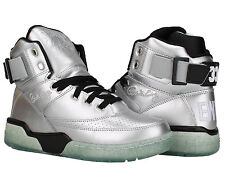 Ewing Athletics Ewing 33 Hi Platinum/Black Men's Basketball Shoes 1EW90148-057