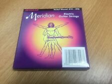 Meridian Electric Guitar Strings Nickel Wound .10-.046