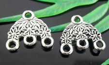 Free Ship 16Pcs Tibetan Silver Connectors Findings 16x15mm