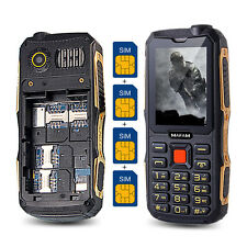 MAFAM Quad SIM cards bluetooth dustproof cell mobile phone with GPRS FM Radio
