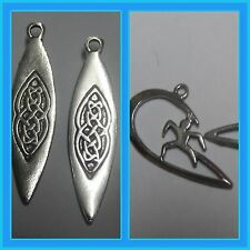 Surfing. surfer, surfboard detailed pewter charms Aussie made hook earrings