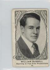 1921 American Caramel Movie Actors and Actresses #40 William Russell Card o8h