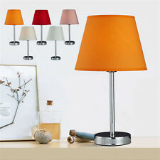 Hand Made Metal Cloth Home Cafe Bedroom Table Lamp Bedside Desk Floor Light Au