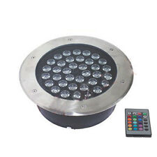36W LED Bulb In Ground Spot Flood Light Outdoor Garden Lamp IP67 IR Controller