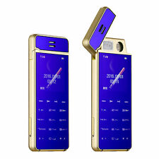 X7 Lighter Phone With Ultrathin Metal Body Bluetooth Dialer Anti-lost Mini Phone