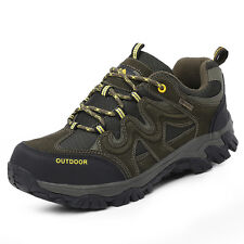 Mens Big Size Outdoor Hiking Shoes Trail Climbing Non Slip Wearable Sports Shoes