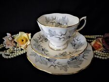 "Lovely vintage ""Royal Albert"" Trio  ""Silver Maple"" 1st Quality"