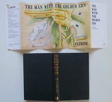 The Man With The Golden Gun - James Bond - Ian Fleming - 1st ed/1st imp 1965