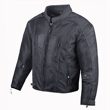 Men's Cyber Summer Armor Mesh Motorcycle Cruiser Street Waterproof Jacket