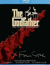 The Godfather: The Coppola Restoration (Blu-ray, 2008) Ships within 12 hours!!!