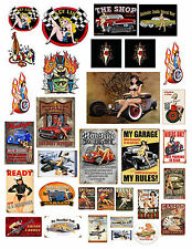 1:18 1:24th Sexy Girls #1 Decals for Diecast & Model Car Dioramas & Displays