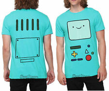 NEW Adventure Time With Finn & Jake Green BMO Beemo Face Tee T-Shirt Men's XX