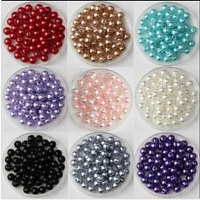 3mm 400 pcs Imitation Abs Beads Round Diy Craft Pearl Plastic Pearls art making