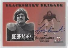 2008 TK Legacy Nebraska Cornhuskers #B3 Kerry Weinmaster Rookie Football Card