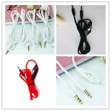 3.5mm Aux Headphone Cable Jack to Jack Gold Plated Audio Cord Adapter For MP3
