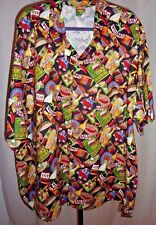 NWT Toucan Dance Hot and Spicy Print Men's Shirt XS